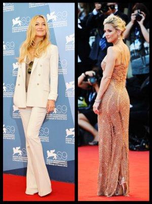 Kate Hudson's Stylish Return to the Red Carpet at the Venice Film Festival