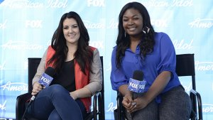 'American Idol's' Kree Harrison and Candice Glover: Ready for Their Final Bow