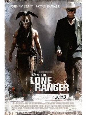 Disney's 'Lone Ranger' to Ride Into Imax Theaters Overseas on August 2