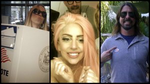 Lady Gaga, Cher, Snoop Dogg, Adam Levine Among Musicians Tweeting Election Elation