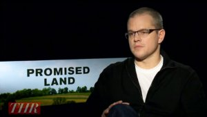 'Promised Land': Matt Damon on When He'll Direct His Own Project (Video)