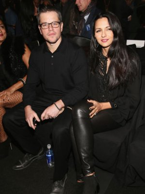 "Why Matt Damon Was at Naeem Khan's Fall 2013 Fashion Show: Beaded Dresses for 'Myself"""