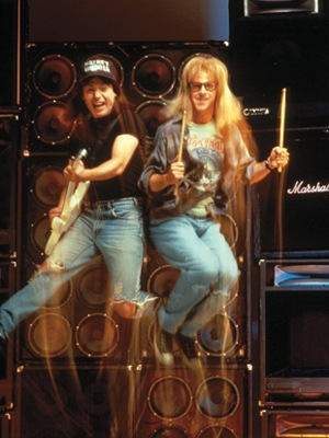 Academy Stages 'Wayne's World' Reunion With Mike Myers, Dana Carvey