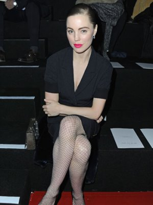 Paris Front Row Fashion: Melissa George at Nina Ricci Fall 2013