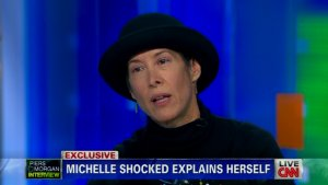 Michelle Shocked on 'Piers Morgan': Evasive, Incoherent, Says 'I'm Not Homophobic'