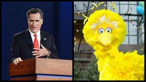 'Big Bird' Responds to Mitt Romney; GOP-PBS Friction Continues