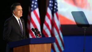 Mitt Romney's Concession Speech: Obama Is in My Prayers (Video)