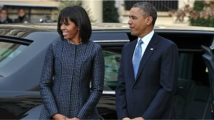 Michelle Obama Wears Thom Browne to Inauguration