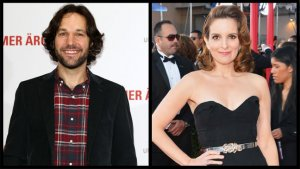 The Awkward Occurrences at Tina Fey and Paul Rudd's New York Press Day