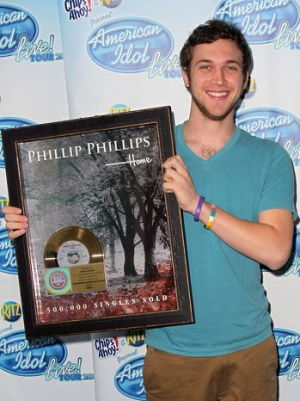 'American Idol' on the Charts: For Phillip Phillips, The No. 1 Hits Keep On Coming