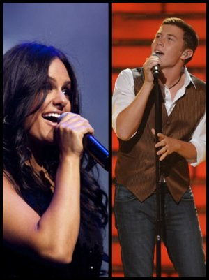 'American Idol' Alums Scotty McCreery, Pia Toscano Team Up for Christmas Duet