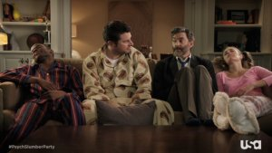 'Psych' Slumber Party: Shawn and Gus Dream of Pluto and Quitting? (Exclusive Video)