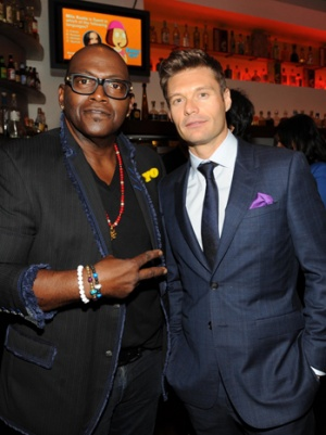 Ryan Seacrest and Randy Jackson Jam With Steven Tyler at Aerosmith Concert (Video)
