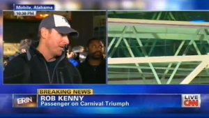 CNN's Martin Savidge Gets Schooled by Carnival Cruise Victim