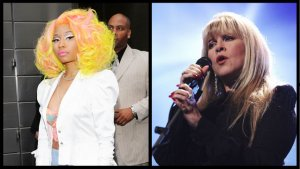 Stevie Nicks Apologizes to Nicki Minaj for Saying She 'Would Have Killed Her'