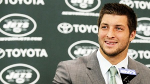 Tim Tebow on Getting 'Asked Out,' Trademarking 'Tebow-ing' (Video)