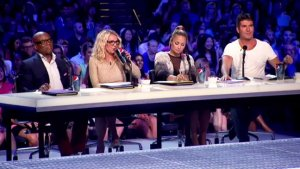 'X Factor's' Britney Spears and Demi Lovato Stump For Votes in New Campaign (Video)