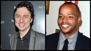 Zach Braff Heads to 'The Exes' for 'Scrubs' Reunion With Donald Faison