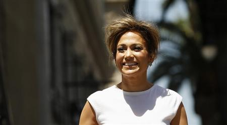 Lopez arrives at ceremony for unveiling of her star on the Walk of Fame in Hollywood