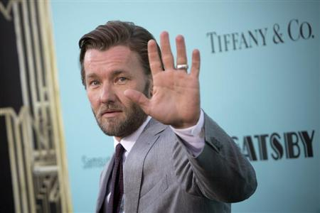 Actor Joel Edgerton attends the 'The Great Gatsby' world premiere at Avery Fisher Hall at Lincoln Center for the Performing Arts in New York