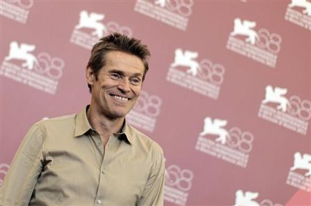 "U.S. actor Dafoe poses during a photocall for film ""4:44 Last Day on Earth"" at the 68th Venice Film Festival"