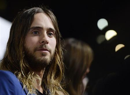 "Musician and cast member Jared Leto attends the premiere of the film ""Dallas Buyers Club"" at the Academy of Motion Picture Arts and Sciences in Beverly Hills"