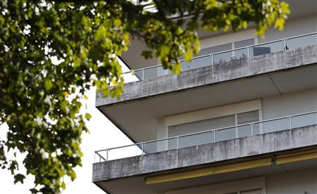 File photo of apartment building in Munich where it is believed that German customs discovered missing artworks