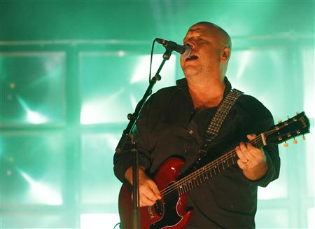 Black Francis of the American band the Pixies performs at Lisbon Coliseum