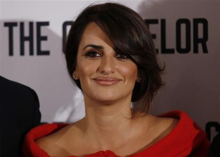 "Actress Penelope Cruz poses for photographers at a photocall for the film ""The Counselor"" in London"