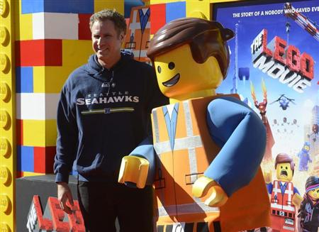 "Will Ferrell attends the premiere of the film ""The Lego Movie"" in Los Angeles"