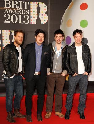 Brit Awards Honor Mumford & Sons, Frank Ocean in Elaborate Ceremony