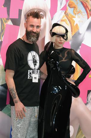 Gaga Producer: She Was a 'Glittery Mermaid' on 'ARTPOP' Sessions