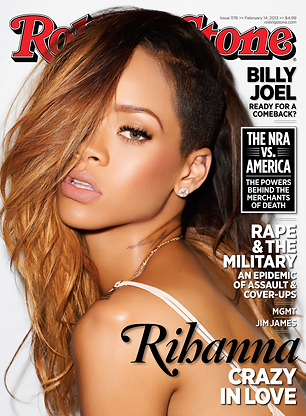 On the Cover: Rihanna's Crazy in Love