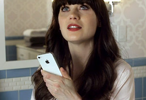 Zooey Deschanel | Photo Credits: Apple