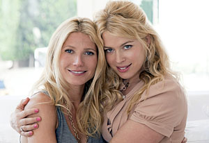 Gwyneth Paltrow and Amanda de Cadenet | Photo Credits: Steven Perilloux/Lifetime