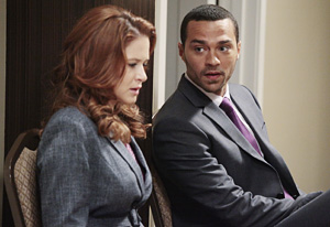 Sarah Drew, Jesse Williams | Photo Credits: Richard Cartwright/ABC