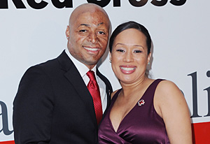 J.R. Martinez and Diana Gonzalez-Jones | Photo Credits: Jon Kopaloff/FilmMagic