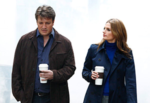 Castle, Nathan Fillion and Stana Katic | Photo Credits: Vivian Zink/ABC