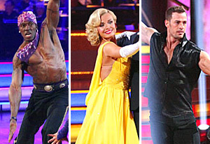 Donald Driver, Katherine Jenkins, William Levy | Photo Credits: Adam Taylor/ABC