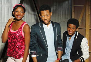 Coco Jones, Tyler James Williams and Trevor Jackson | Photo Credits: Bob D'Amico/Disney Channel