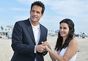 Josh Hopkins, Courteney Cox | Photo Credits: Eric McCandless/ABC