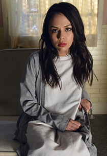 Janel Parrish | Photo Credits: Eric McCandless/ABC Family /Getty Images