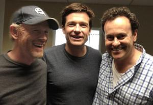 Ron Howard, Jason Bateman and Mitch Hurwitz | Photo Credits: Jason Bateman/Twitter