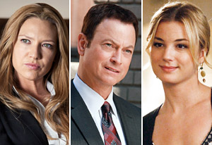 Anna Torv, Gary Sinise, Emily VanCamp | Photo Credits: Fox, CBS, ABC
