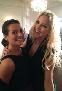 Lea Michele and Kate Hudson | Photo Credits: Twitter