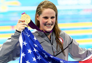 Missy Franklin | Photo Credits: La Bello/Getty Images