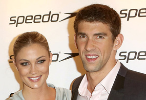 Megan Rossee and Michael Phelps | Photo Credits: Tim Whitby/Getty Images
