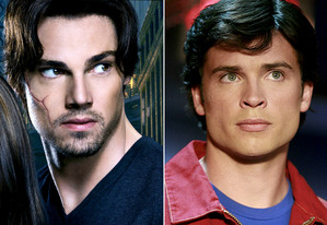Jay Ryan, Tom Welling | Photo Credits: Jan Thijs/The CW; Michael Courtney/The CW/Landov