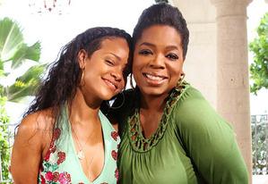 Rhianna, Oprah | Photo Credits: Oprah