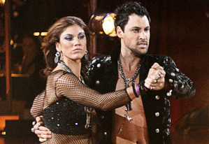 Hope Solo, Maksim Chmerkovskiy | Photo Credits: Adam Taylor/WireImage